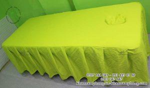 Mẫu ga giường Spa cao cấp - Khăn Spa Cao Cấp
